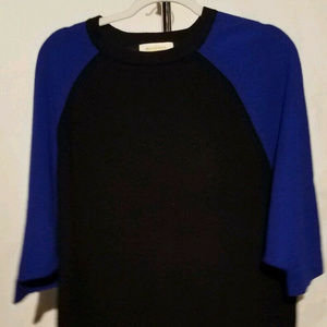 Peck & Peck Cashmere sz Large Royal Blue sweater